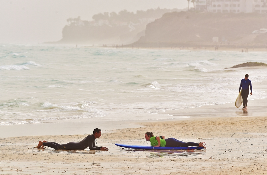 Surf courses  in La Pared